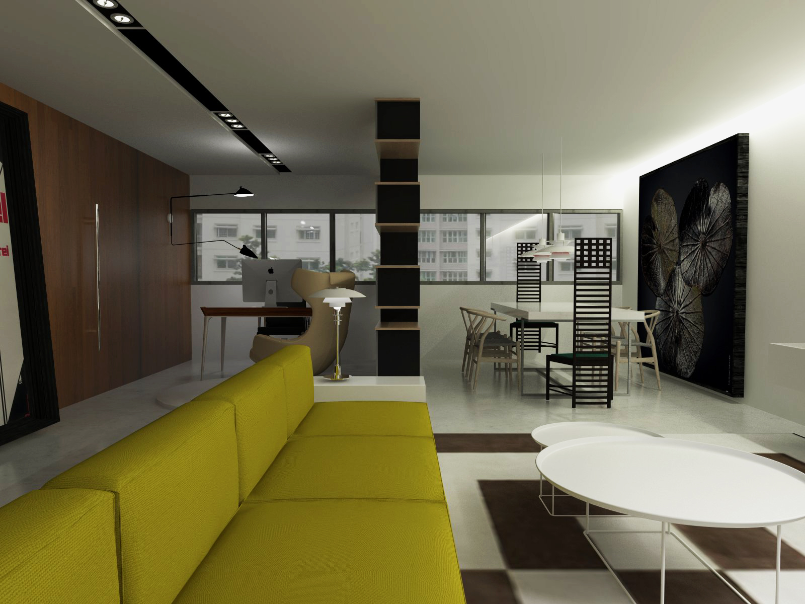 Designfantastico mcnair road 4 room hdb for Interior design 4 room