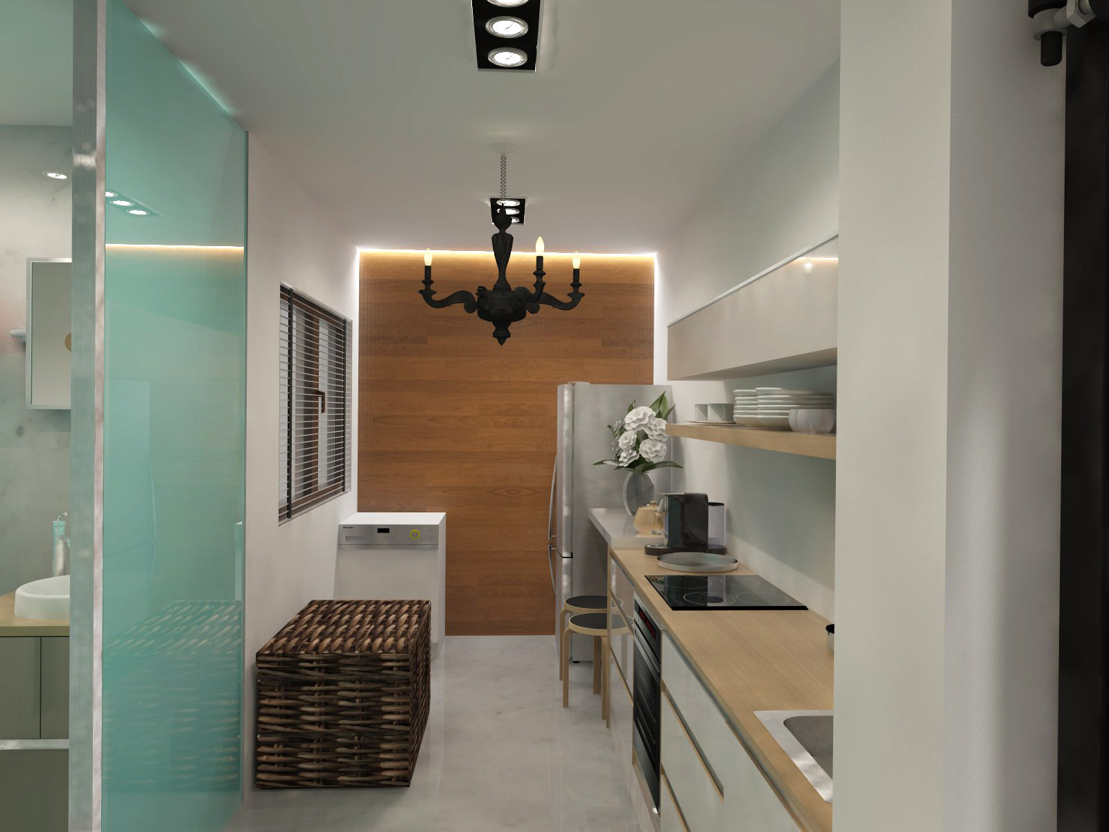 Home Architec Ideas Hdb Bto 4 Room Kitchen Design